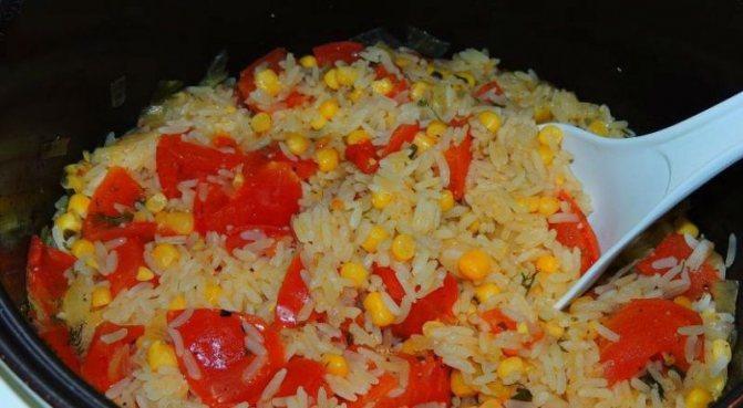 1. Как отварить рис на гарнир вкусно