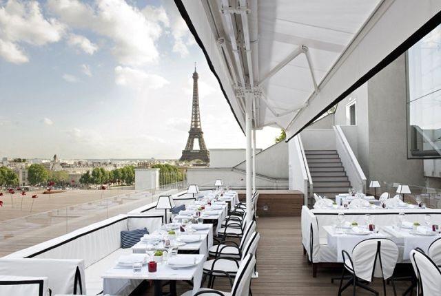 10 ресторанов Парижа с видом на Эйфелеву башню