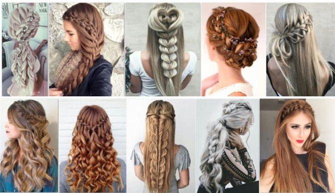 120 модных причесок с косами в домашних условиях.