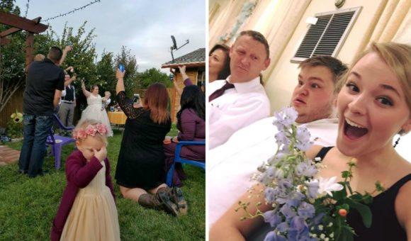 14 уморительных фото со свадеб, после которых ваши собственные покажутся вам дикой скукой