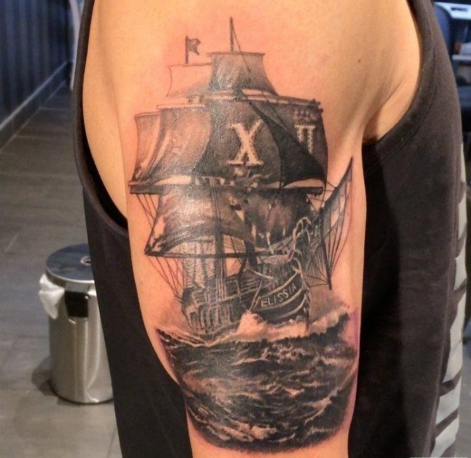 правилам шиноби, фото татуировок корабль была этаким
