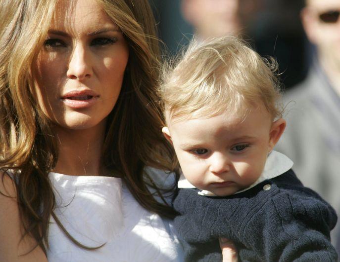 20 марта 2006 года Меланья родила сына, которого назвали Бэрроном Уильямом Трампом.