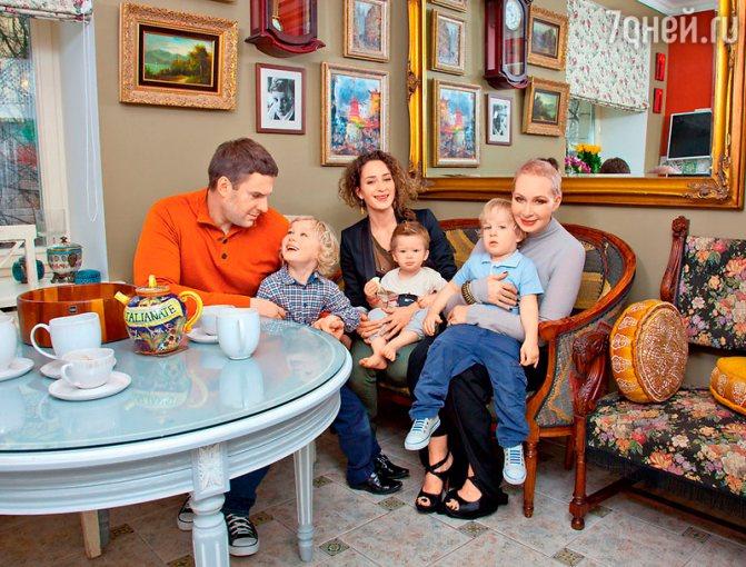 55 лучших фото Татьяны Васильевой, ее мужей и детей, внуков