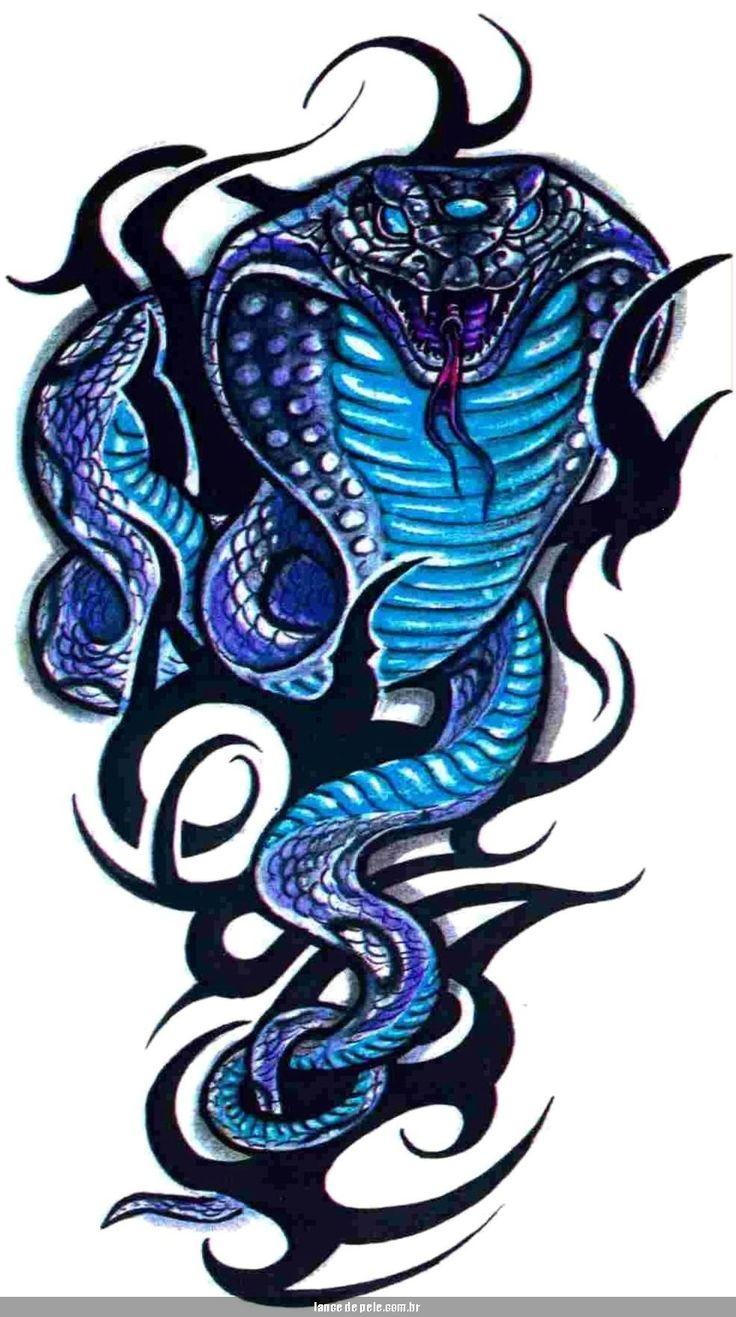 картинки татушки змеи ходунков подробное