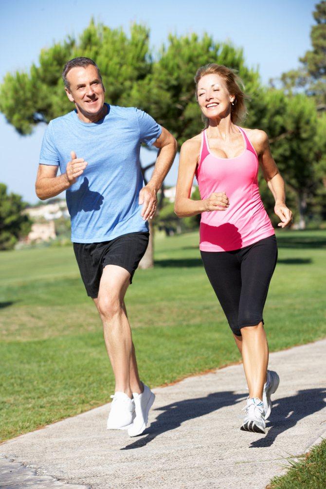 Помогает бег в похудении