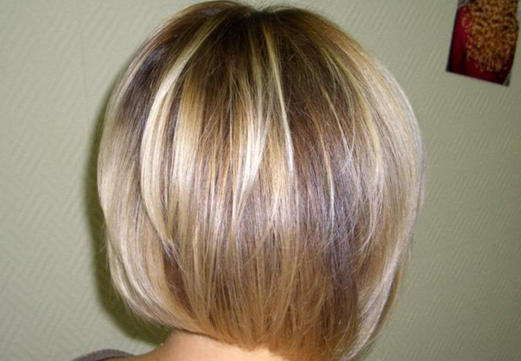 А вот фото 3 д окрашивания на короткие волосы.