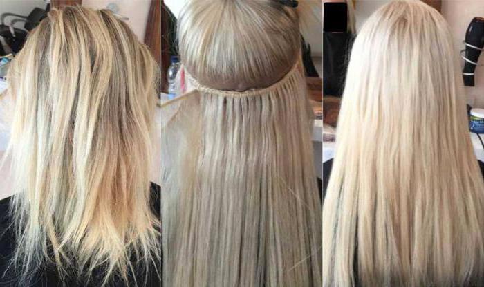 афронаращивание волос фото