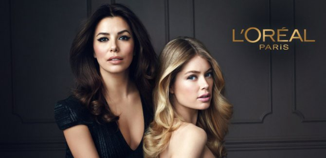 Актриса стала лицом французского бренда L'Oreal Paris,