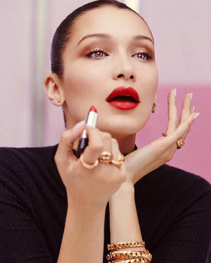 акварельная техника макияжа