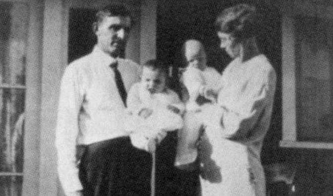 Альберт и Ида Болендеры, приемная семья Мэрилин Монро