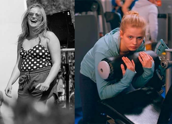Александра Бортич фото до и после