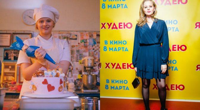 Александра Бортич стройная