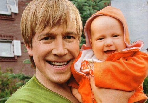 Алексей Кравченко с сыном