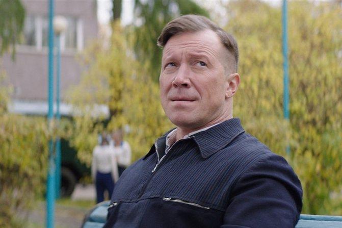 Алексей Кравченко в роли Алексея Хомича (кадр из фильма «Лев Яшин. Вратарь моей мечты»)
