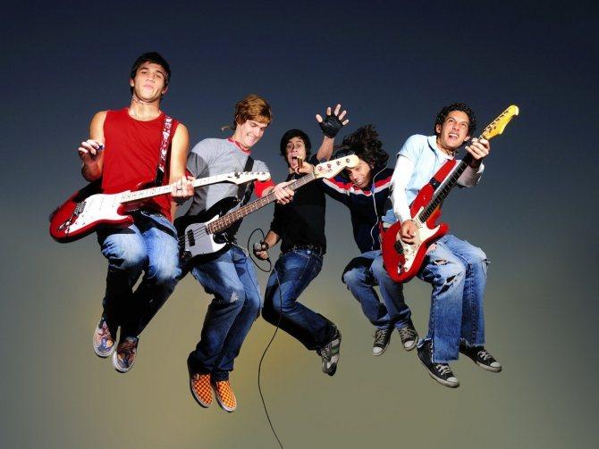 Американские молодежные музыкальные группы