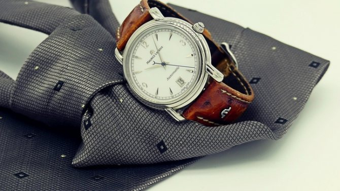 amic.ru: Часы и галстук.