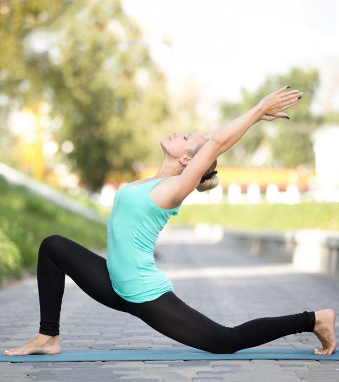 Йога Похудеть В Бедрах. Йога для похудения — 5 упражнений для красивого живота и бедер