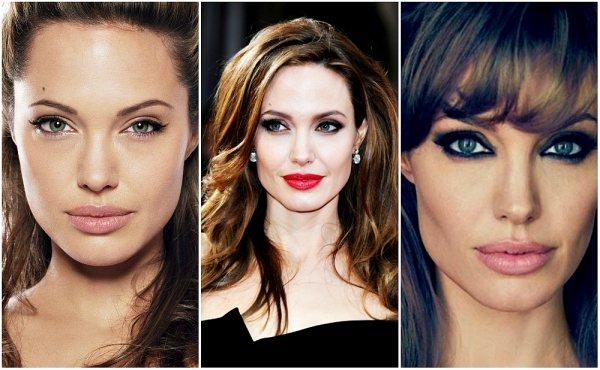 Анджелина Джоли 3 варианта