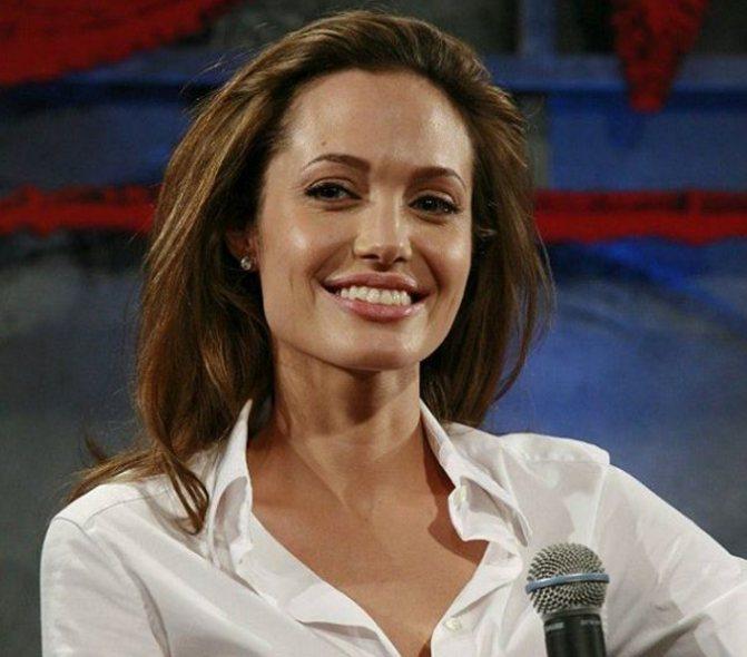 Анджелина Джоли и ее тайные роман