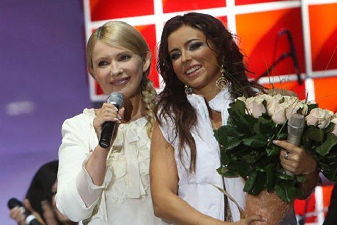 Ани Лорак и Юлия Тимошенко