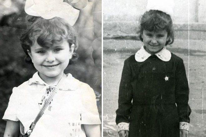 Ани Лорак в детстве