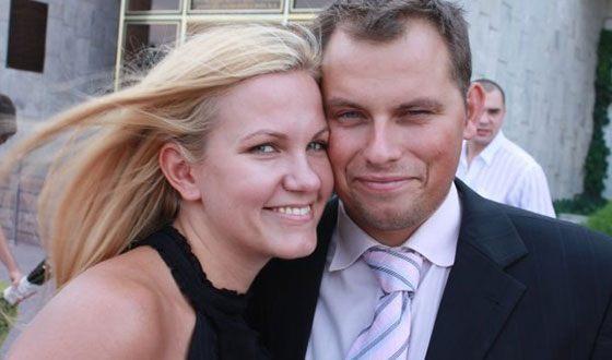 Антон Иванов и его жена