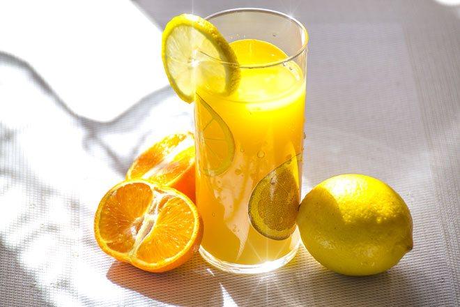 Апельсиново Лимонный напиток