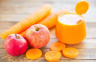 Морковный фреш: польза и вред, калорийность, химический состав.
