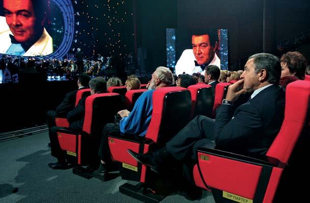 Араc Агаларов в Сrocus City Hall на вечере памяти Муслима Магомаева