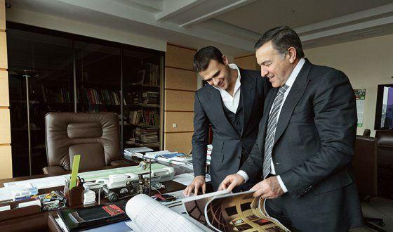 Араз и Эмин Агаларовы вместе ведут семейный бизнес
