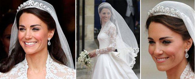 Аристократизм свадебной прически принцессы Кейт Мидлтон