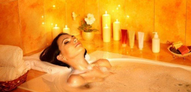 ароматические ванны в домашних условиях