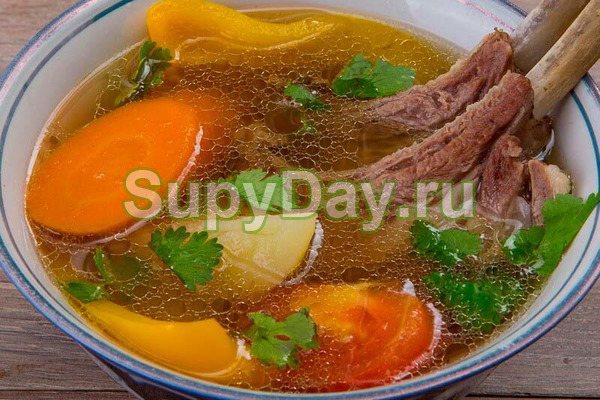 Ароматная густая, наваристая шурпа из Узбекистана для любителей острой пищи