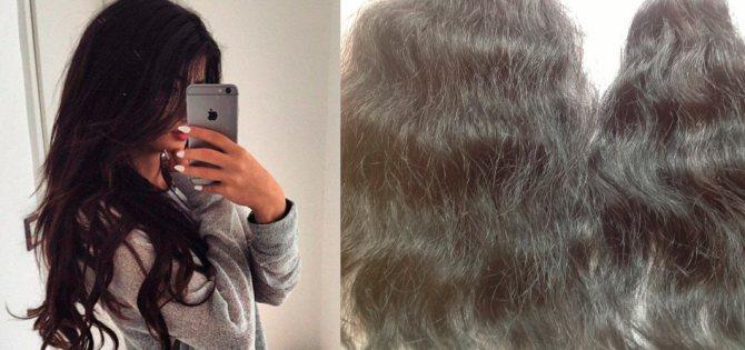 азиатские волосы
