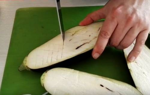 Баклажаны гриль на мангале