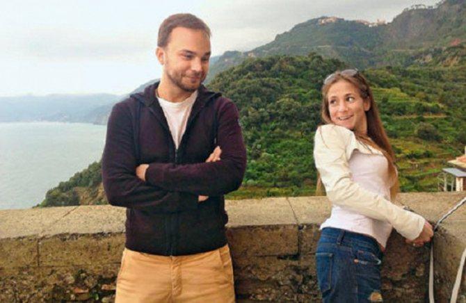 Барановская с актером Андреем Чадовым