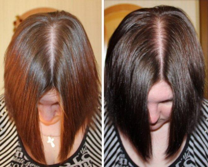 удовольствием басма для волос фото до и после звукоизоляции стен