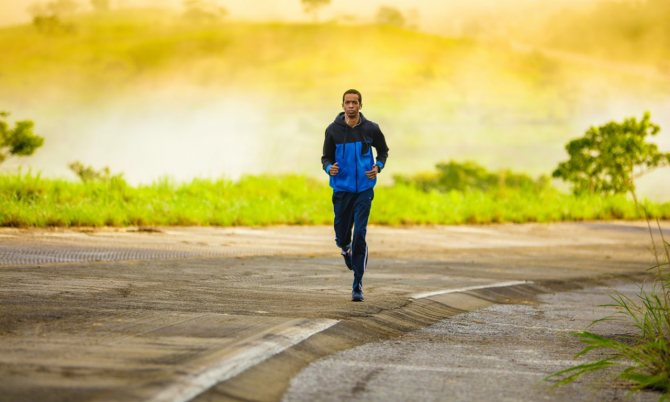 Бег с ускорением