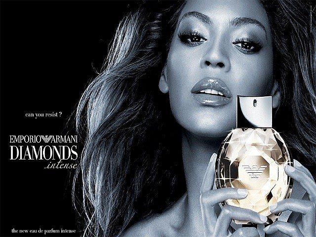Бейонсе - Emporio Armani Diamonds Intense