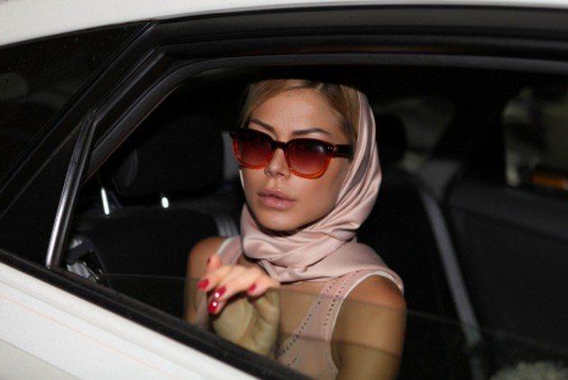 Белла Потемкина на Неделе моды в Милане