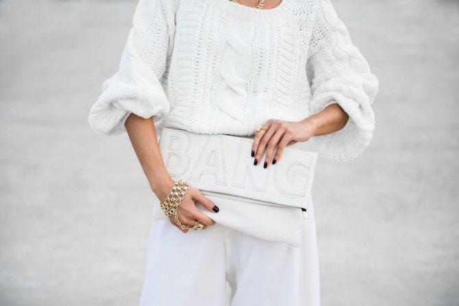 Белый цвет в одежде, фото № 12