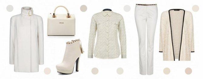 Белый цвет в одежде, фото № 2