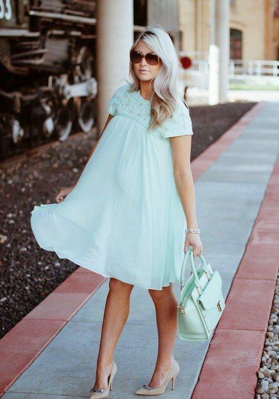 Беременность в моде! Модные платья для беременных: фото новинки