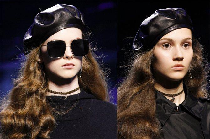 Береты Christian Dior осень-зима