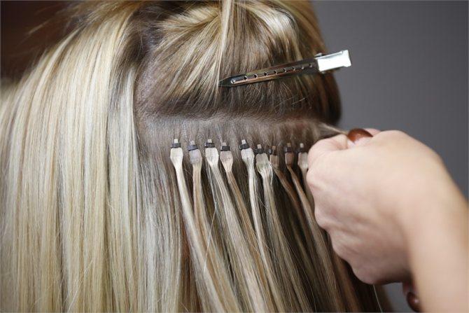 безопасное наращивание волос