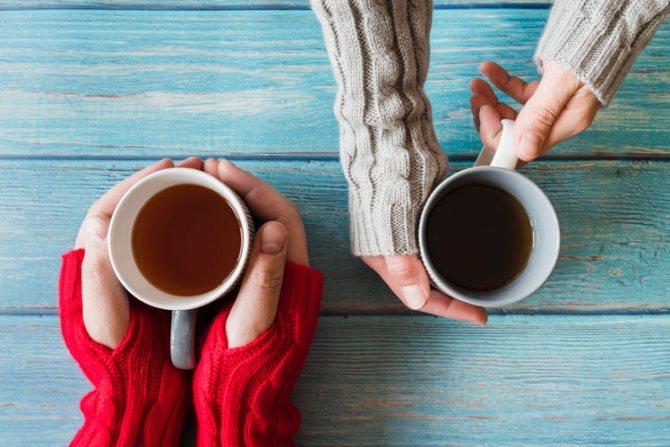 Благотворное влияние чая на организм человека