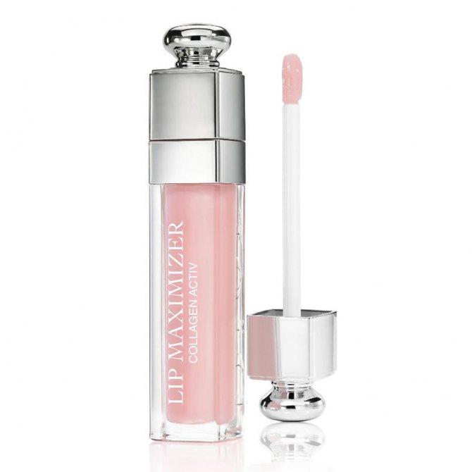 Блеск-плампер Dior Lip Maximizer в оттенке 02