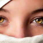 блеск в глазах