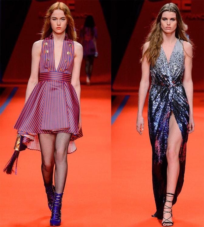 Блестящие платья Elisabetta Franchi