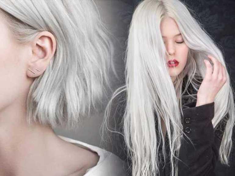 Блонд с пепельным отливом